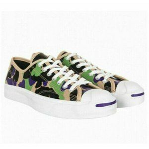 Converse Jack Purcell Ox Low Top Leather Camo